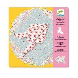 DJECO - Origami - 100 feuilles decoratives - DJ08770