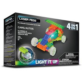 LASER PEGS - 4 in 1 Cars - MPS300B