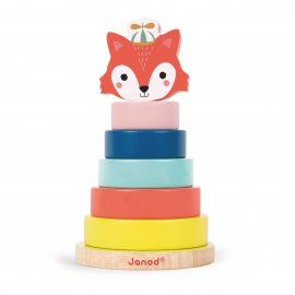 JANOD - EMPILABLE RENARD - BABY FOREST - J08014