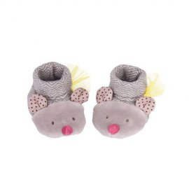 MROTY - Chaussons souris gris Les Pachats - 660050