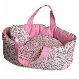 EGMONT - BIG CARRY COT WITH FLOWER BEDDING