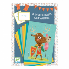 Djeco - Cartes d'invitations - Invitation au château