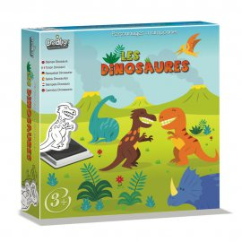 CREALIGN - Tampons Les Dinosaures - CL125