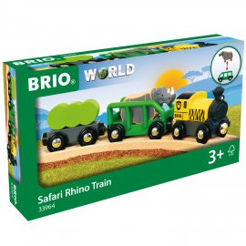 Train Rhino Safari