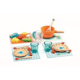 Djeco - DJ06547 - Imitation - Gourmandises - A table les chats !