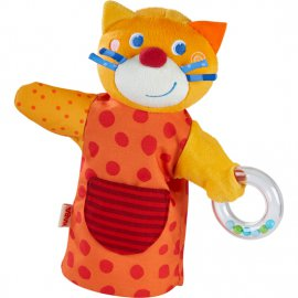 Haba - 304928 - Marionnette Sonore Chat Musicien Haba