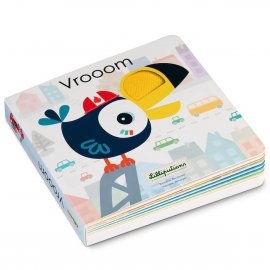 Vrooom : Livre Sonore & Tactile