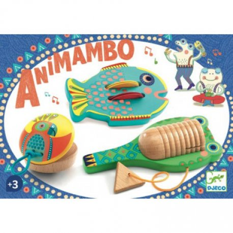 Animambo : Set de 3 percussions