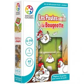 Smart Games : Les poules ont la bougeotte