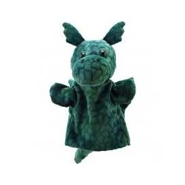ANIMAL PUPPET BUDDIES DRAGON (GREEN)