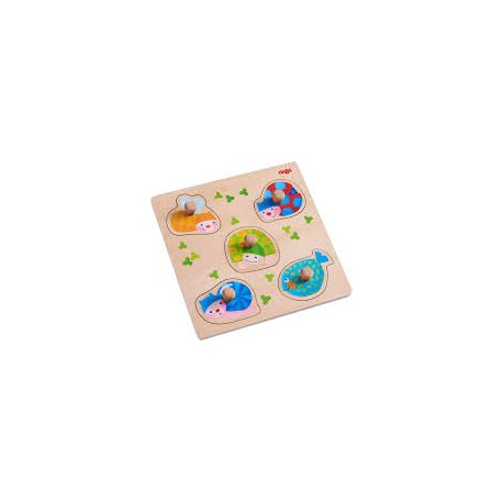Puzzle : Animaux multicolores