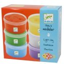 DJECO - The colours - For littles ones - 6 light clay boxes - DJ08864