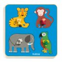 Puzzles Gros Boutons - Family Jungle