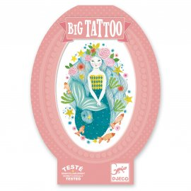 Djeco - Tatouages - Big Tattoos - Aqua Blue