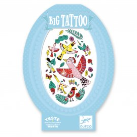 Djeco - Tatouages - Big Tattoos - Birdy