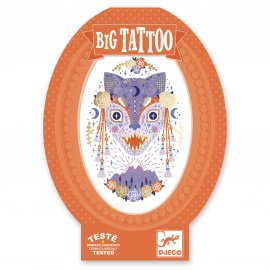 Djeco - Tatouages - Big Tattoos - Mystic Beast