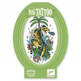 Djeco - Tatouages - Big Tattoos - Tiger