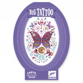 Djeco - Tatouages - Big Tattoos - Papillon