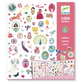 Djeco - Stickers - 1000 Stickers - Sweet