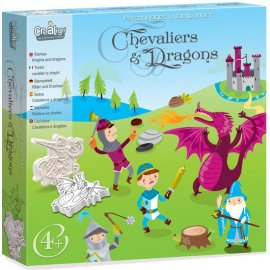 CREALIGN - Tampons Chevaliers et Dragons - CL97