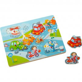 Haba - 303180 - Puzzle Musical Ville