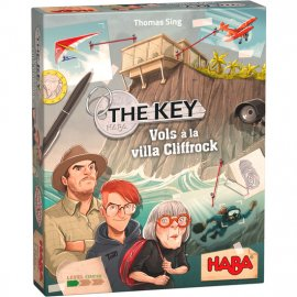 HABA - 305544 - !! Jeu - The Key - Vols à la villa Cliffrock