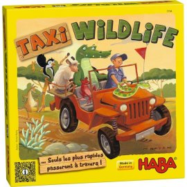 Haba - Jeu - Jungle Taxis