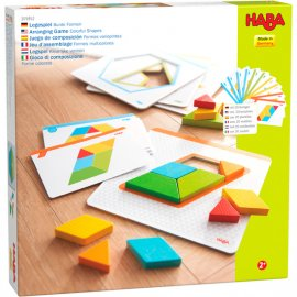 Haba - 305952 - d'assemblage Formes multicolores