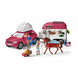 SCHLEICH - 42535 - HORSE ADVENTURES WITH CAR AND TRAILER