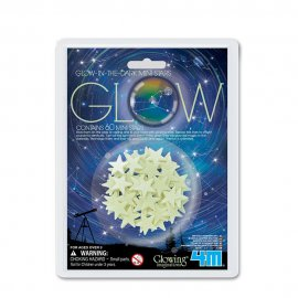4M Phosphorescent MINI-PACK: MINI-ETOILES EN BLANC
