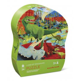 CROC CREEK - Mini Shaped Puzzle - Dinosaurs - 384118-9