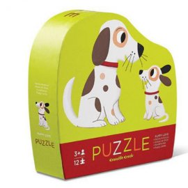 CR.CREEK - 12 pc Mini Puzzle/Puppy Love - 384114-6