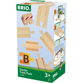 BRIO - COFFRET DE DEMARRAGE - 13 RAILS - PACK B - 33394
