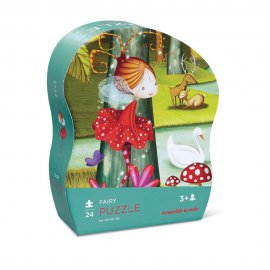 CR.CREEK - 24 pc Mini Puzzle/Fairy - 384118-6