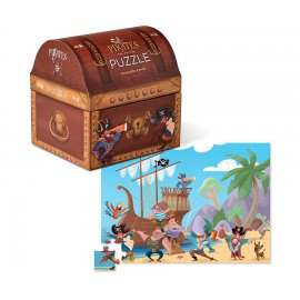 CR.CREEK - Double Fun Puzzle/Pirate Treasure - 384091-1