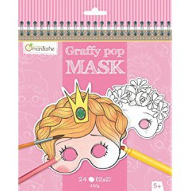 Avenue Mandarine -Graffy Pop Mask Fille
