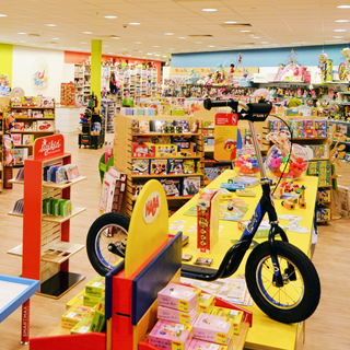 Magasin de jouets à Woluwe Shopping Center